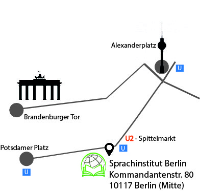sprachinstitut berlin sprachschule berlin-mitte kommandantenstraße